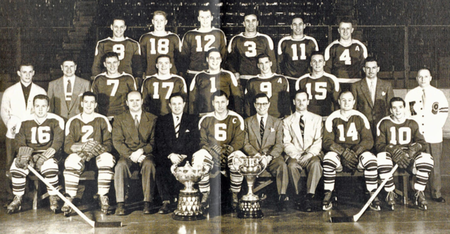 Kitchener-Waterloo Dutchmen 1953 Allan Cup Champions