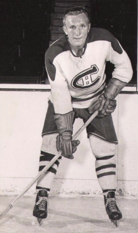 Paul Masnick 1954 Montreal Canadiens