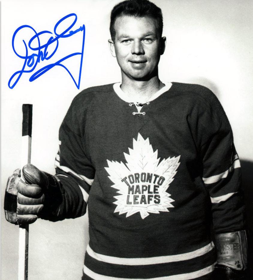 don cherry in a toronto maple leafs jersey 1965 hockeygods