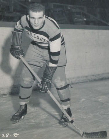 John Mariucci 1938 University of Minnesota Golden Gophers