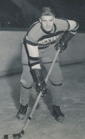 Dick Kroll 1938 University of Minnesota Golden Gophers Captain