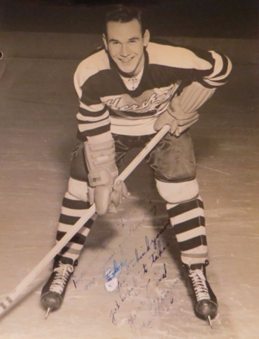 Mark Marquess 1949 Hershey Bears