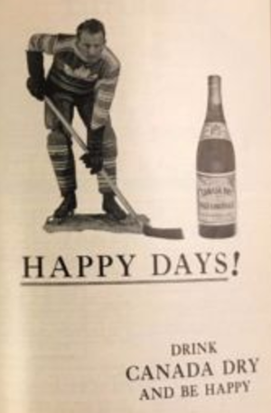 Happy Day ad for Canada Dry Ginger Ale 1933