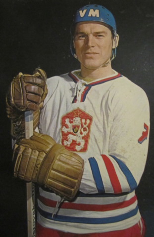 František Pospíšil 1972 Czechoslovakia Men's National Ice Hockey Team