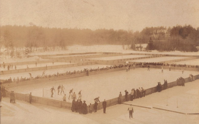 St. Paul's School Ice Hockey Rinks - SPS Lower Pond 1908 Concord, New Hampshire