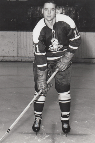 Howie Glover 1965 Cleveland Barons