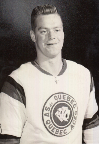 Terry Gray 1964 Quebec Aces