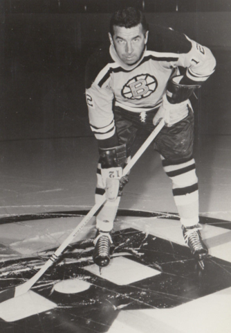 Ron Stewart 1966 Boston Bruins