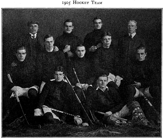 Harvard University Hockey Team 1904–05