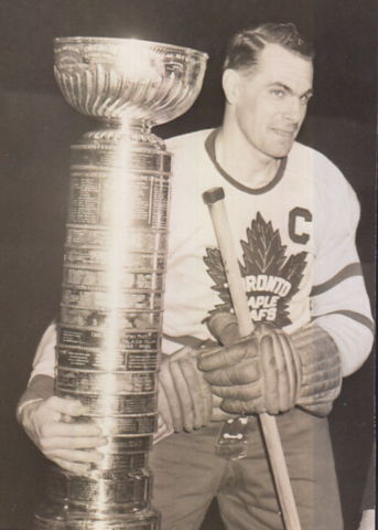 Syl Apps 1947 Stanley Cup Champion