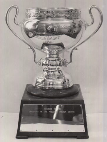 First Calder Cup 1938 - International-American Hockey League Championship Trophy