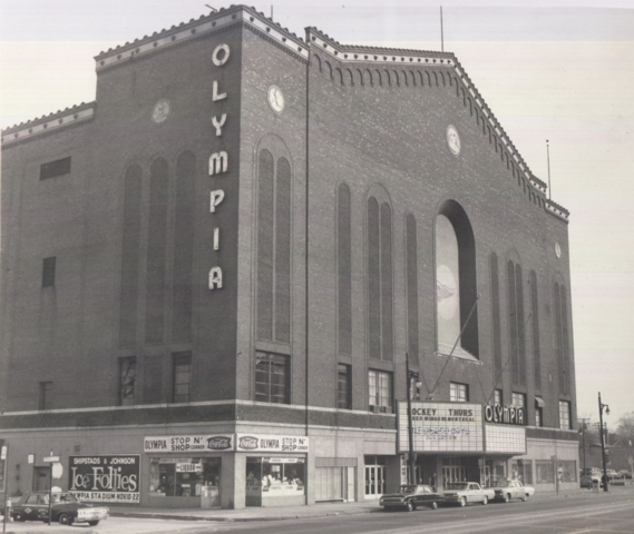 Detroit Olympia 1963 Home of the Detroit Red Wings