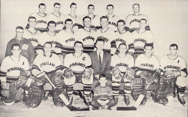 Belleville McFarlands Team Photo 1958