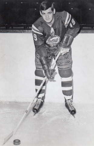 Alain Caron 1965 Buffalo Bisons