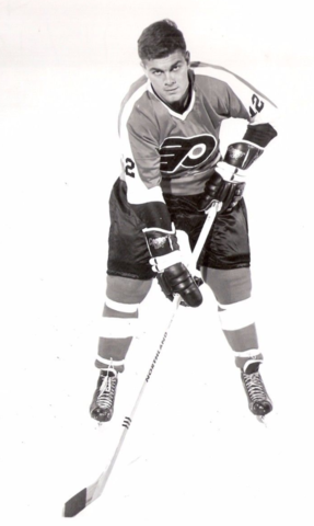 Gary Dornhoefer 1968 Philadelphia Flyers