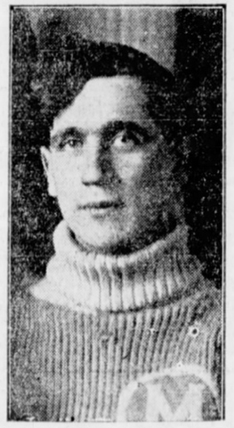 Alex Irvin 1915–16 Winnipeg Monarchs