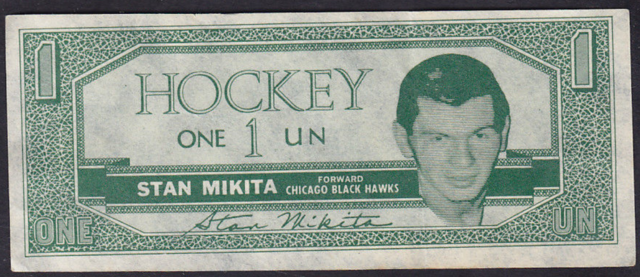 1962-63 Topps Hockey Bucks #17 Stan Mikita