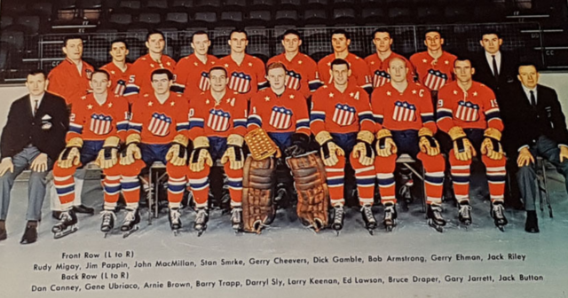 Rochester Americans Team Photo 1962 American Hockey League