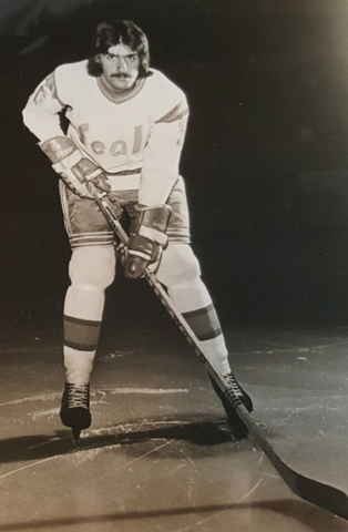 Charlie Simmer 1974 California Golden Seals