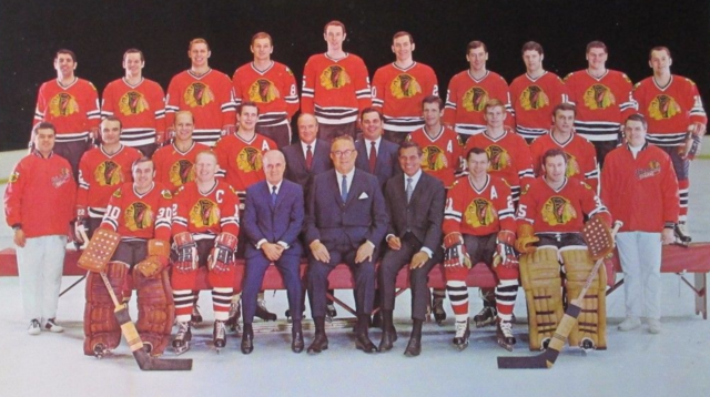 Chicago BlackHawks Team Photo 1970