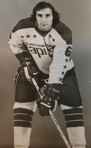Peter Scamurra 1975 Washington Capitals