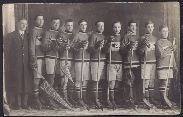 De La Salle College Hockey Team - circa 1918 Science Team