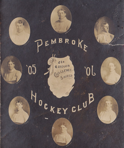 Pembroke Hockey Team 1906 Pembroke Lumber Kings