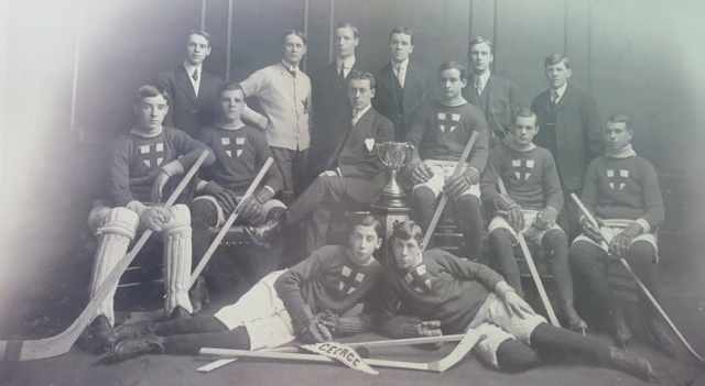 St. George Hockey Club 1910 Quebec Junior Hockey Champions
