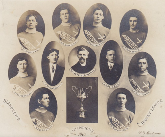 St. Andrews West Hockey Team 1910 League Champions