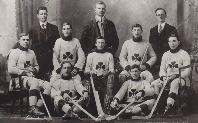 Barry's Bay Bobcats 1912 Barry's Bay Hockey Team
