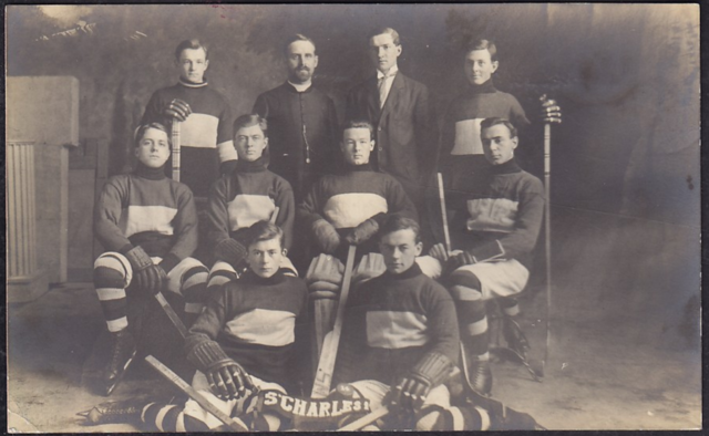 Séminaire de Sherbrooke Hockey Team 1913 Seminar Saint-Charles Hockey Team