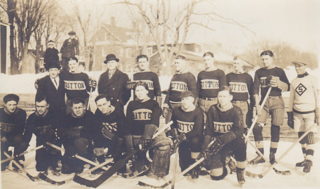 Sutton Hockey Team 1931