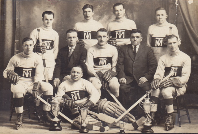 Thetford Mines Hockey Club 1927 League Champions