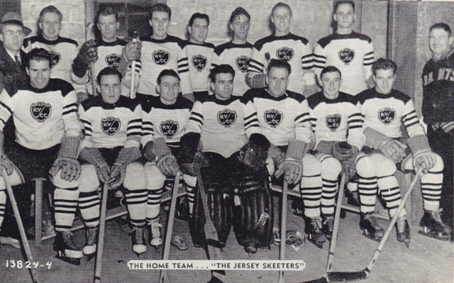 The Jersey Skeeters Hockey Team 1939 River Vale, New Jersey