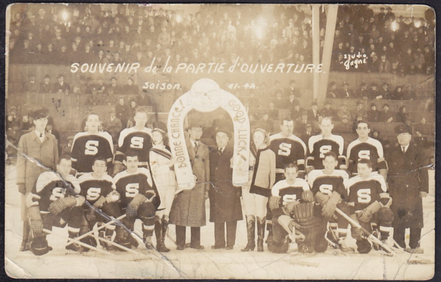 Shawinigan Falls Cataractes 1942 Montreal & District Senior League Champions