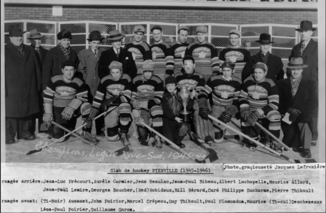 Club de Hockey Pierreville 1946 League Champions Rive-Sud