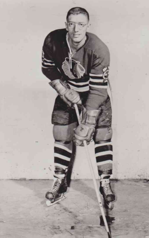 Al Arbour 1959 Chicago Black Hawks