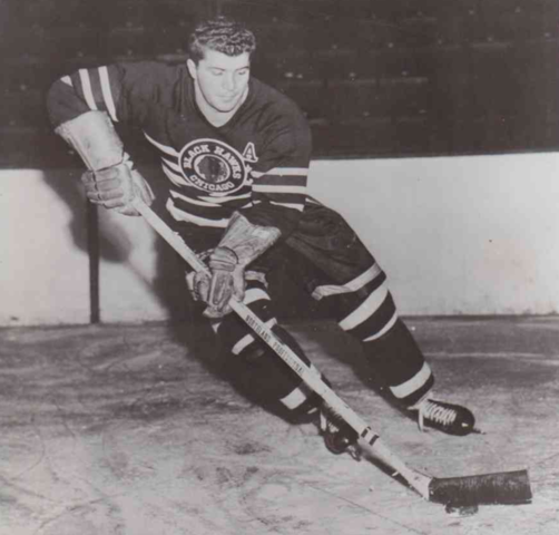 Bep Guidolin 1951 Chicago Black Hawks