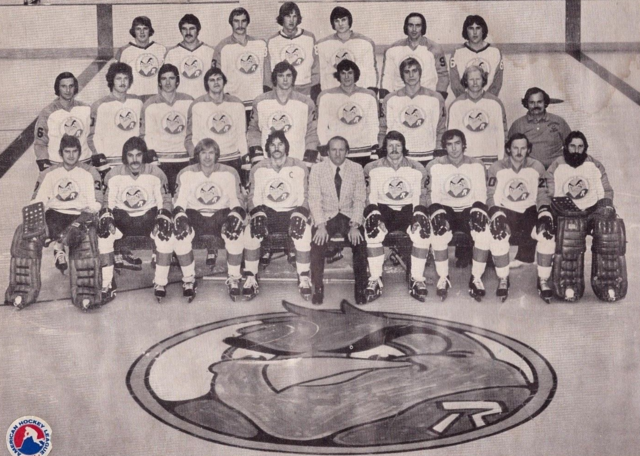 Richmond Robins Team Photo 1975 American Hockey League