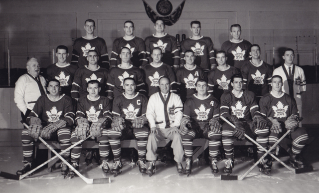 Toronto Maple Leafs Team Photo 1957
