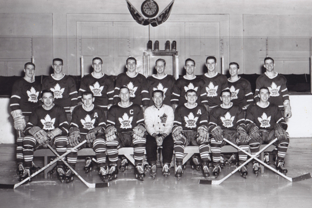 Toronto Maple Leafs Team Photo 1956