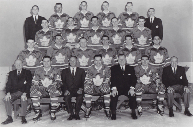 Toronto Maple Leafs Team Photo 1963