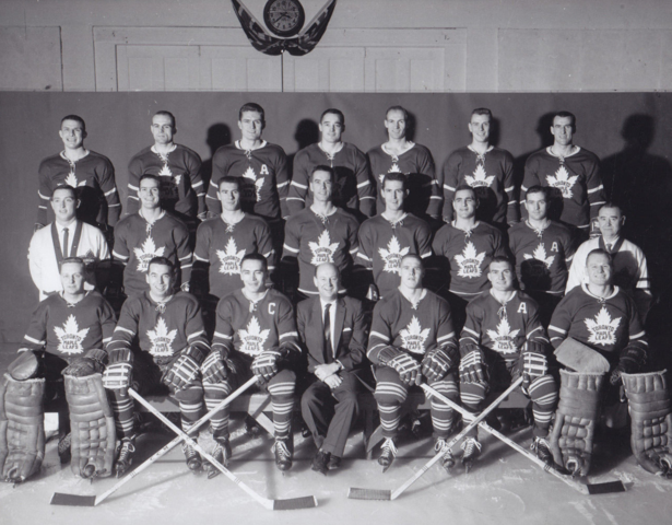 Toronto Maple Leafs Team Photo 1958