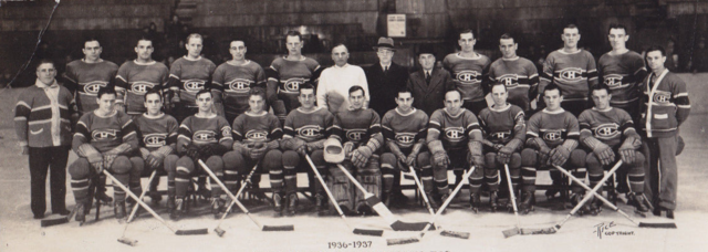 Montreal Canadiens Team Photo 1936