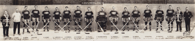 Montreal Canadiens Team Photo 1930