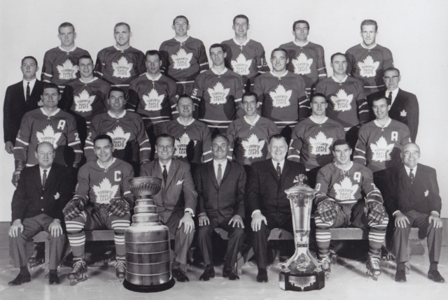 Toronto Maple Leafs Team Photo 1963 Stanley Cup Champions