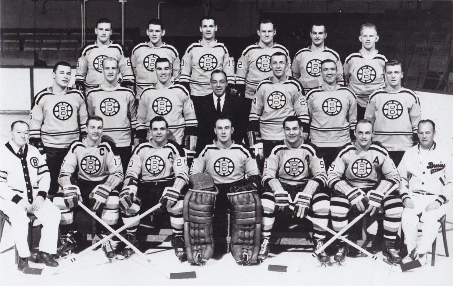 Boston Bruins Team Photo 1961 Hockeygods