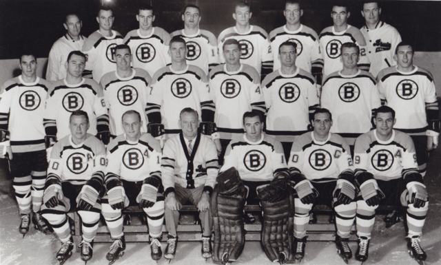 Boston Bruins Team Photo 1963-64