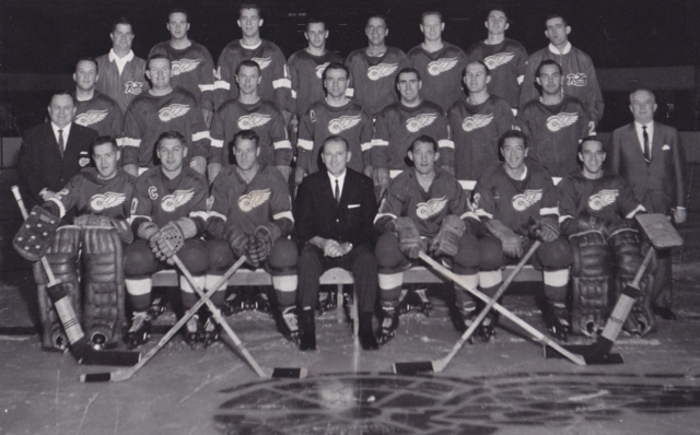 Detroit Red Wings Team Photo 1964