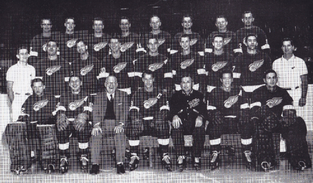 Detroit Red Wings Team Photo 1960